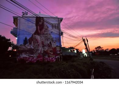 Graffiti in Canggu, Bali