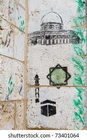 Graffiti of the Dome of the Rock