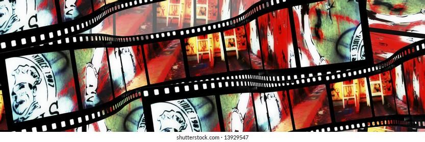 Graffiti Film strip