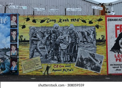 The Graffiti of the Shankill Road in Belfast, 2015 August 5
