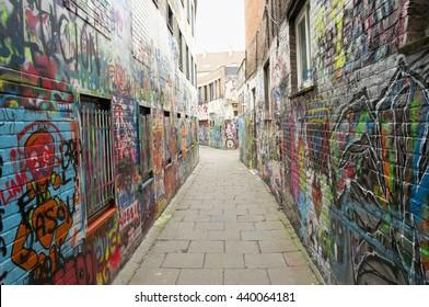 Graffiti Street - Ghent - Belgium
