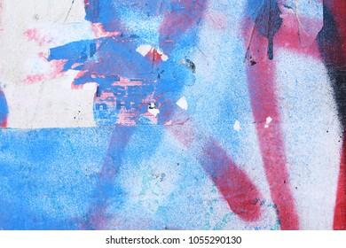 graffiti urban art spray paint layers / colour drips / ghetto tag backdrop