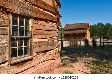 Grafton Ghost Town, filming location of Butch Cassidy and the Sundance Kid, near Zion National Park, Utah, USA