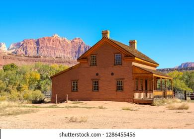 Grafton Ghost Town, Utah, USA