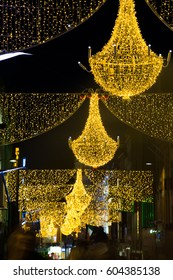 Grafton Street Dublin at Christmas