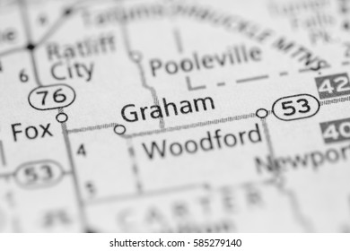Graham. Oklahoma. USA
