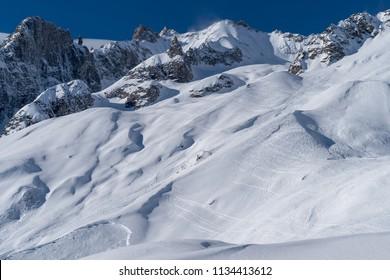 Graian Alps, Mont Blanc range, Aosta Valley, Italy