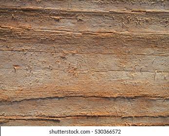 Grain eroded drift wood background, rough wooden texture, driftwood pattern