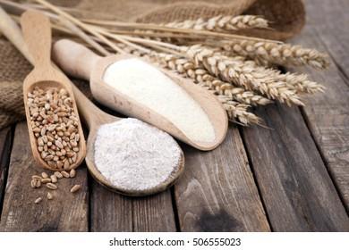 Grain and flour