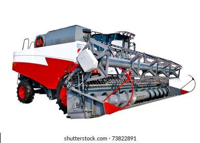 Grain harvester combine