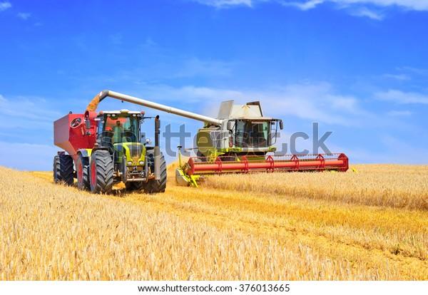 Getreideerntemischung