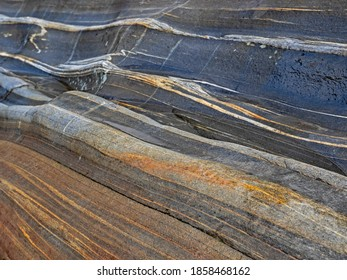 Grain in the orthogneiss, Maserung im Orthogneis