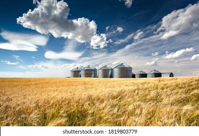 Grain Silos, Soda Springs, Idaho