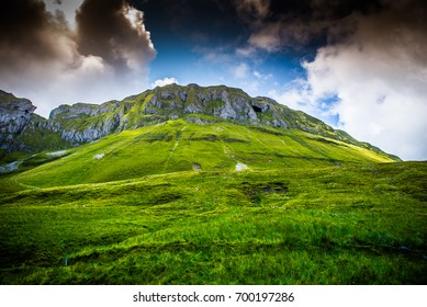 Grainnes Cave in the Horseshoe Valley of the Dartry Mountain range.  Sligo, Ireland.