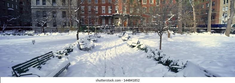 Gramercy Park in Manhattan, New York City, New York