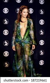 Grammy Awards, Circa February 2000, Dress by Versace, Jennifer Lopez