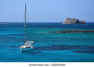 Gramvousa Coast, Crete Island