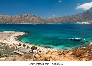 Gramvousa island, (Crete, Greece)
