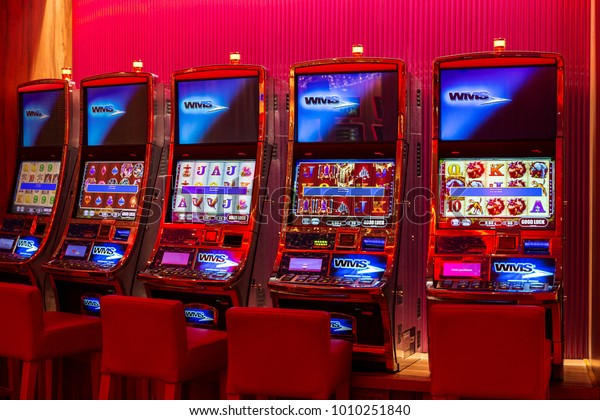 Gran Canaria Spain 12222017 Casino Slot Stock Photo Edit Now