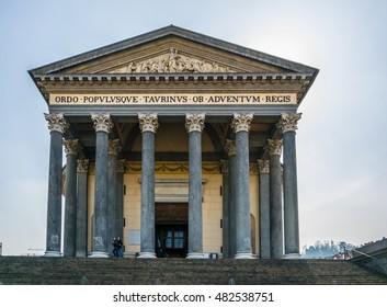 the Gran Madre di Dio Church in Turin.