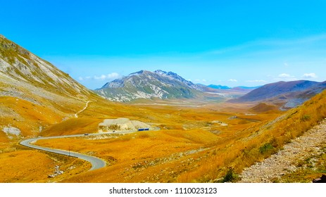 Gran Sasso D'Italia Mountain Abruzzo