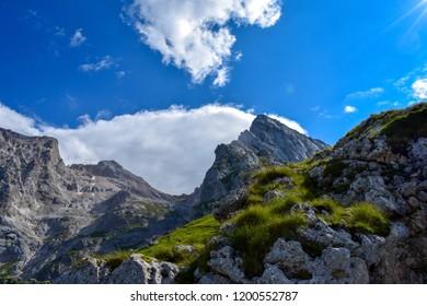 Gran Sasso mountains chain, Prati di Tivo, Teramo Province, Abruzzo Region, Italy