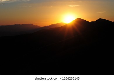 Gran Sasso sunset