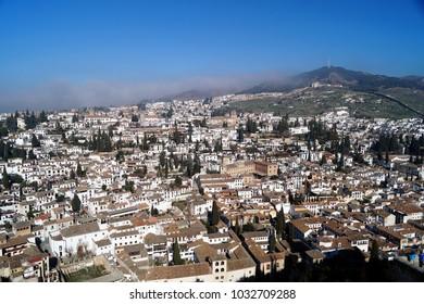 Granada, Albaicín, Andalusia, Spain