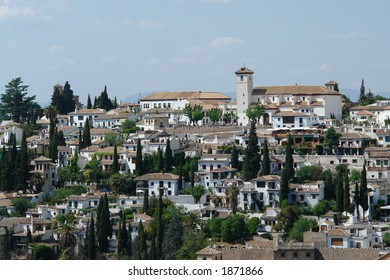 Granada city of Spain in Europe