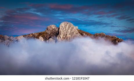 Granada mountain top