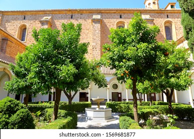 GRANADA, SPAIN – June 18, 2019: Interior of the Carthusian monastery church of the Assumption of Our Lady (Monasterio de la Cartuja) , Granada, Spain.