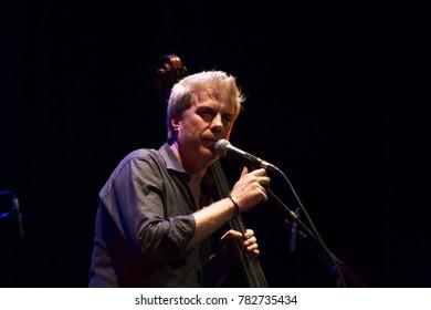 GRANADA, SPAIN - NOVEMBER 3, 2017: Kyle Eastwood Quintet at the 38 International Jazz Festival of Granada.