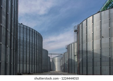 Granary specially equipped place for long-term storage of grain