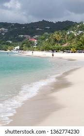 Grand Anse beach Grenada Caribbean sea