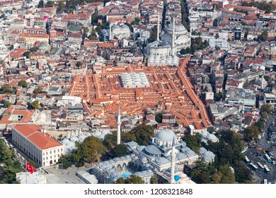 Grand Bazaar Aerial Shooting
