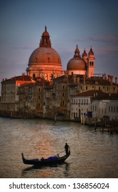 Grand Canal With Gondola - Venice