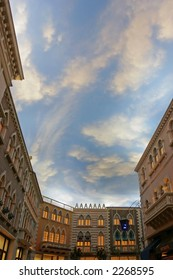 Grand Canal Shops at the Venetian Resort Hotel Casino Las Vegas Nevada USA