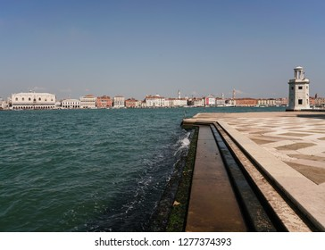Grand Canal and Steps in Venice Italy