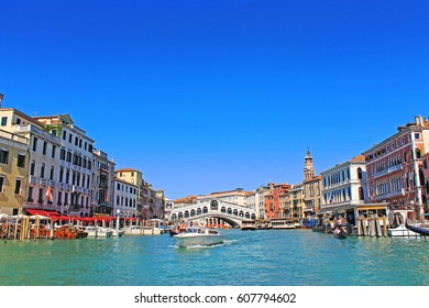 Grand Canal of Venice City, Italy