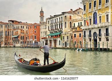 Grand canal in Venice. Region Veneto. Italy