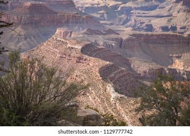 Grand Canyon at Grandview Point, South Rim, Arizona. USA