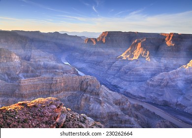 Grand Canyon - Guano Point. Hualapai Indian reservation