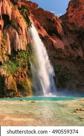 Grand Canyon, Havasupai Indian Reservation, amazing havasu falls in Arizona