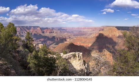 Grand Canyon landscape at Grandview Point, South Rim, Arizona. USA
