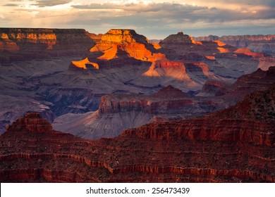 Grand Canyon Mather Point Sunrise