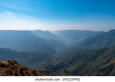 Grand canyon of Meghalaya, India. Laitlum canyon.