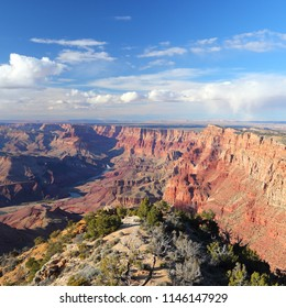 Grand Canyon National Park in Arizona, United States. Navajo Point view.