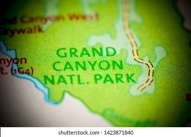 Grand Canyon Map Images, Stock Photos & Vectors | Shutterstock