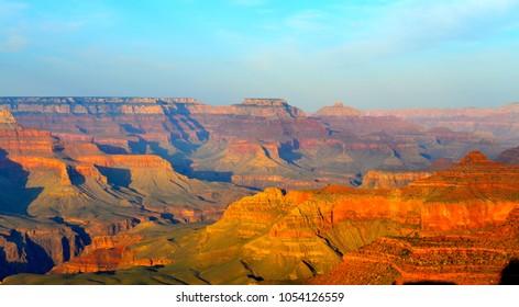 Grand Canyon National Park at Sunset at Hopi Point