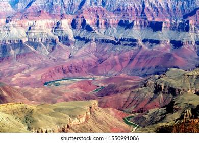 Grand Canyon North Rim, Grand Canyon National Park, Arizona.